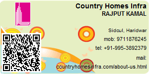 Visiting Card of Country Homes Infra Pvt Ltd
