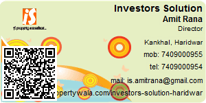 Visiting Card of Investors Solution