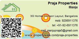 Visiting Card of Praja Properties