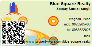 Visiting Card of Blue Square Realty