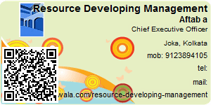 Contact Details of Resource Developing Management