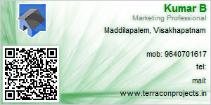 Visiting Card of Terracon Project