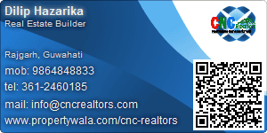 Visiting Card of CNC Realtors Pvt. Ltd.