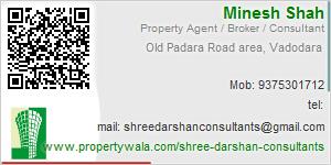 Visiting Card of Shree Darshan Consultants