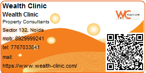 Visiting Card of Wealth Clinic