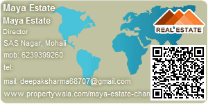 Visiting Card of Maya Estate