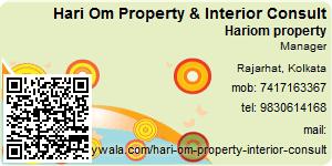 Visiting Card of Hari Om Property & Interior Consult