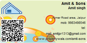 Visiting Card of Amit & Sons