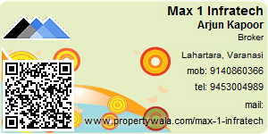 Visiting Card of Max 1 Infratech