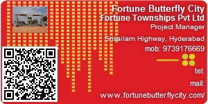 Visiting Card of Fortune Butterfly City