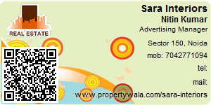 Visiting Card of Sara Interiors