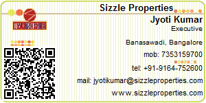 Visiting Card of Sizzle Properties