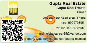 Visiting Card of Gupta Real Estate