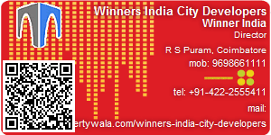 Visiting Card of Winners India City Developers