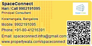 Visiting Card of SpaceConnect