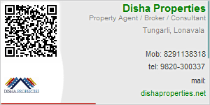 Visiting Card of Disha Properties