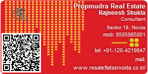 Visiting Card of Propmudra Real Estate
