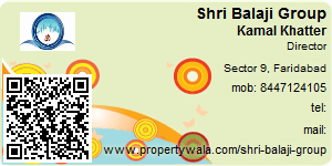 Visiting Card of Shri Balaji Group