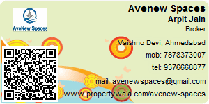 Visiting Card of Avenew Spaces