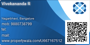 Vivekananda R - Visiting Card