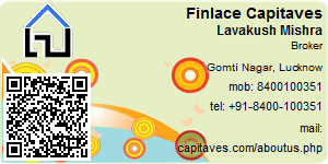 Visiting Card of Finlace Capitaves Pvt Ltd