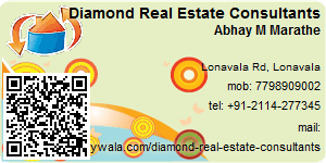 Visiting Card of Diamond Real Estate Consultants
