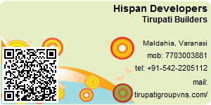 Visiting Card of Hispan Developers Pvt Ltd