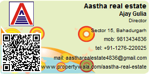 Contact Details of Aastha real estate