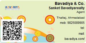 Visiting Card of Bavadiya & Co.