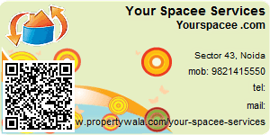 Visiting Card of Your Spacee Services Pvt. Ltd.