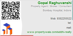 Visiting Card of Siddhi Realty