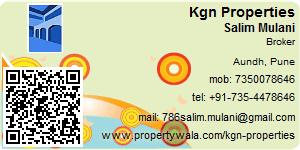 Visiting Card of Kgn Properties