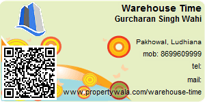 Visiting Card of Warehouse Time