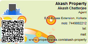 Visiting Card of Akash Property