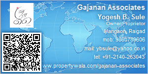 Visiting Card of Gajanan Associates