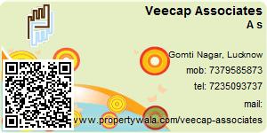 Visiting Card of Veecap Associates Pvt Ltd