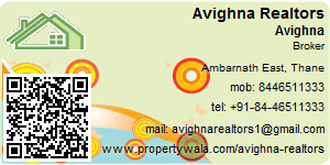 Visiting Card of Avighna Realtors