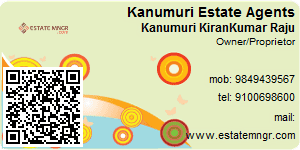 Visiting Card of Kanumuri Estate Agents