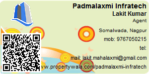 Visiting Card of Padmalaxmi Infratech