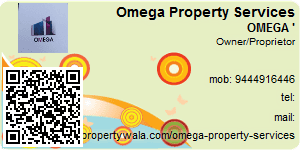 Visiting Card of Omega Property Services