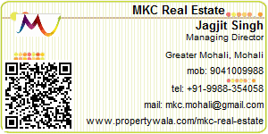 Visiting Card of MKC Real Estate