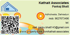 Visiting Card of Kathait Associates