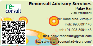 Visiting Card of Reconsult Advisory Services