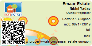 Visiting Card of Emaar Estate