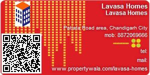 Visiting Card of Lavasa Homes