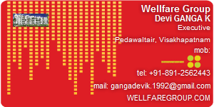 Visiting Card of Wellfare Group