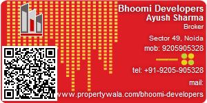 Ayush Sharma - Visiting Card