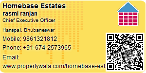 Visiting Card of Homebase Estates Pvt Ltd