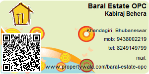 Visiting Card of Baral Estate OPC Pvt Ltd