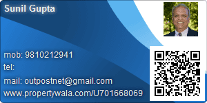 Sunil Gupta - Visiting Card